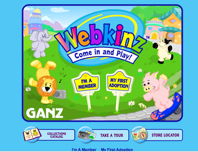 Webkinz Second Life My Space Mashup Takes Kids By Word Of Mouth Storm What S Next Blog
