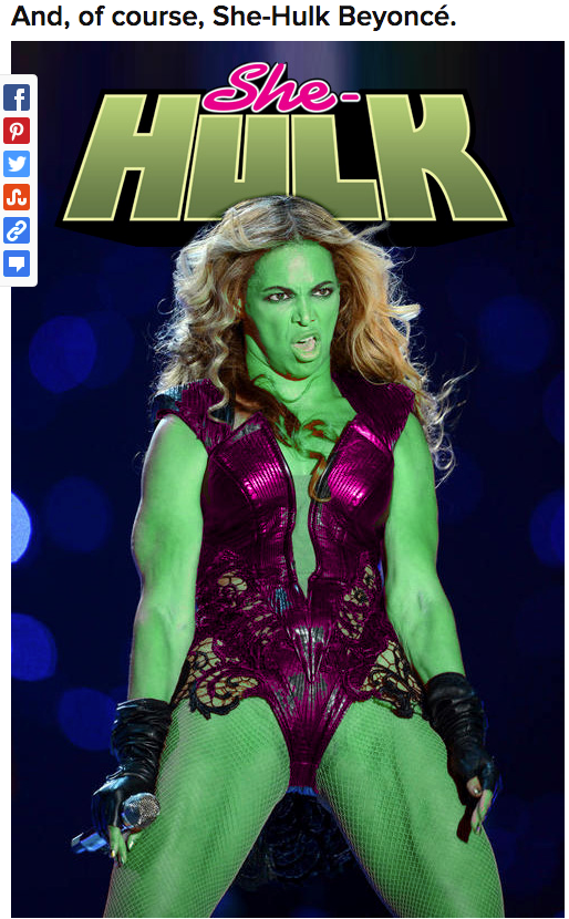 Beyonce-Hulk