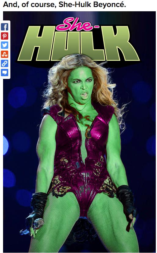 Beyonce-Hulk