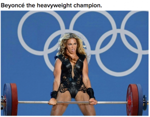 Beyonce-weights