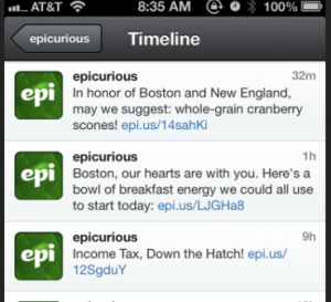 Epicurious-Boston