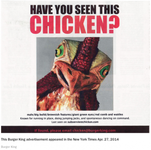 BK Chicken ADS