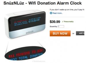 Snuz n Luz Alarm Clock