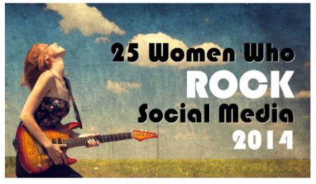 25 Women who rock social media 2014