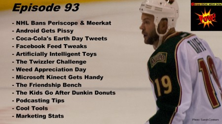 BSMedia Show - NHL Bans Periscope & Meerkat - Episode 93
