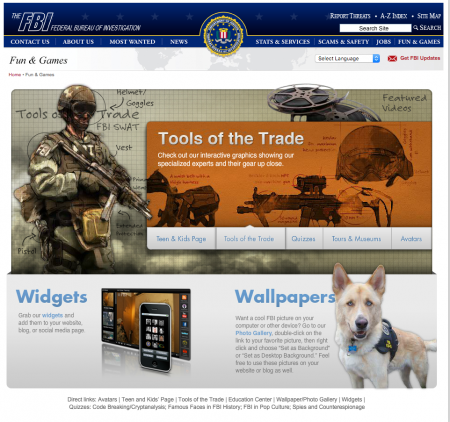 FBI-Fun-Games-Page