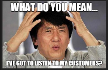 Listen-to-customer