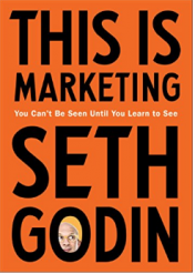 """This is Marketing,"" new book by Seth Godin"