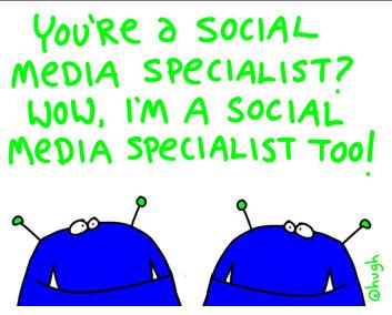 social media specialists - Hugh Macleod