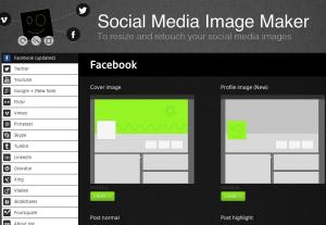 SocialMedia Image Maker