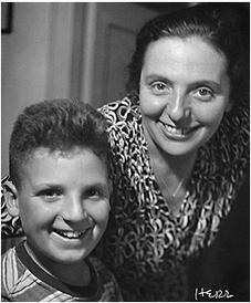 Alice Herz-Sommer & her son