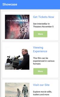 Interstellar-HOA Showcase